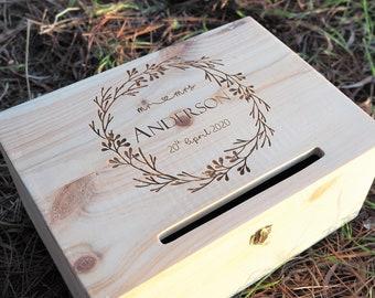 Wedding Wishing Well / Guest Book / Wood Box / Wedding Box