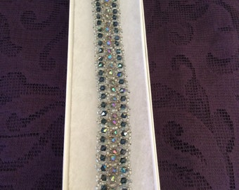 Swavorski Crystal beaded bracelet
