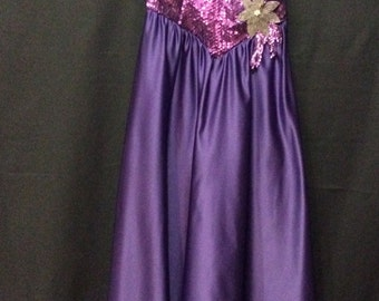 Purple Party Dress