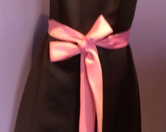Alfred Sung Pink and Brown Prom Evening Dress Size 2