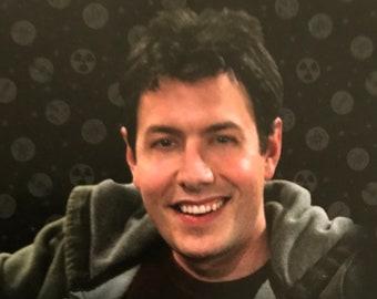 Autographed John Ross Trdaing Card Big Bang Theory