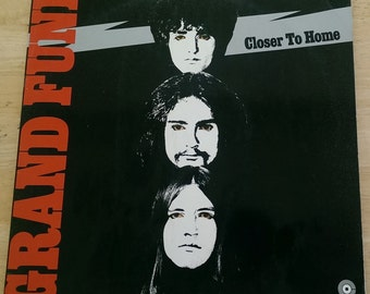 Grand Funk - Closer To Home - 1 C 062-80456 - 1970 German Import (Green Capitol Center) - 145 gram - VG+