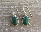 Silver earrings - Turquoise
