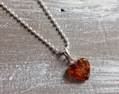 Amber S necklace