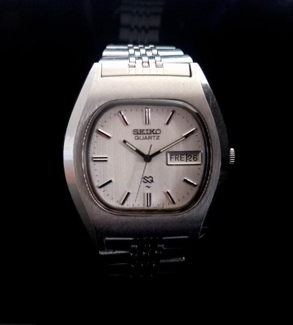 Vintage Seiko QS Japan Men's Wrist Watch Seiko Men