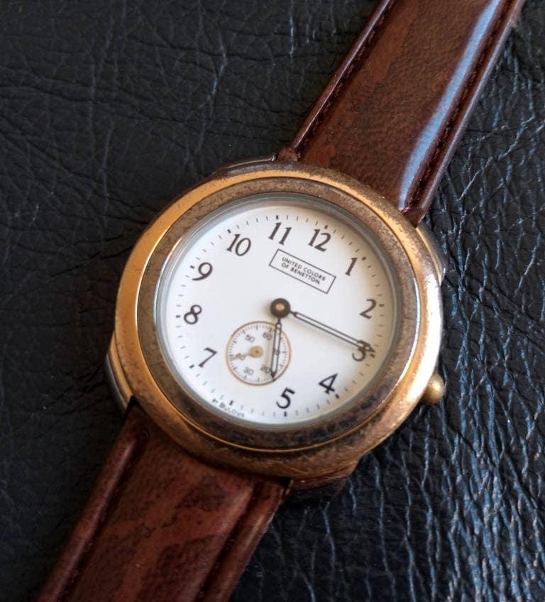UNITED COLORS von BENETTON von Bulova Quarz Damen-Armbanduhr | Etsy