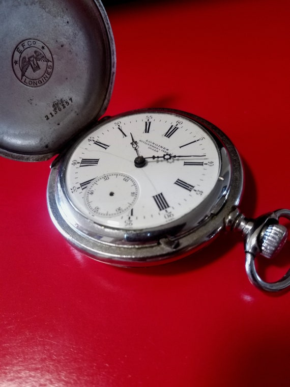 year 1907 Longines pocket watch, cal.18,50 Longine