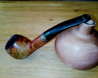 Vintage Peterson Dublin Tobacco Pipe Nº 408, 925 Sterling Silver, Vintage Peterson Tobacco Pipe, Vintage Tobacco Pipe, Peterson Dublin Pipe