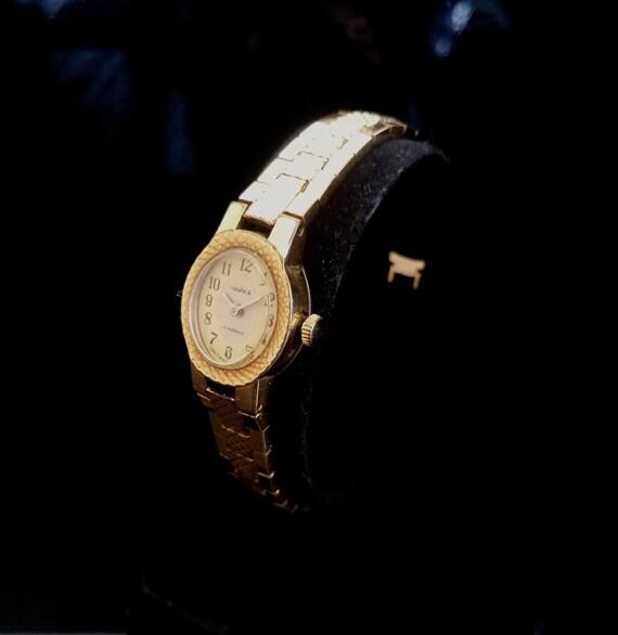 USSR CHAIKA LADY'S Wristwatch, Soviet Chaika 1970'