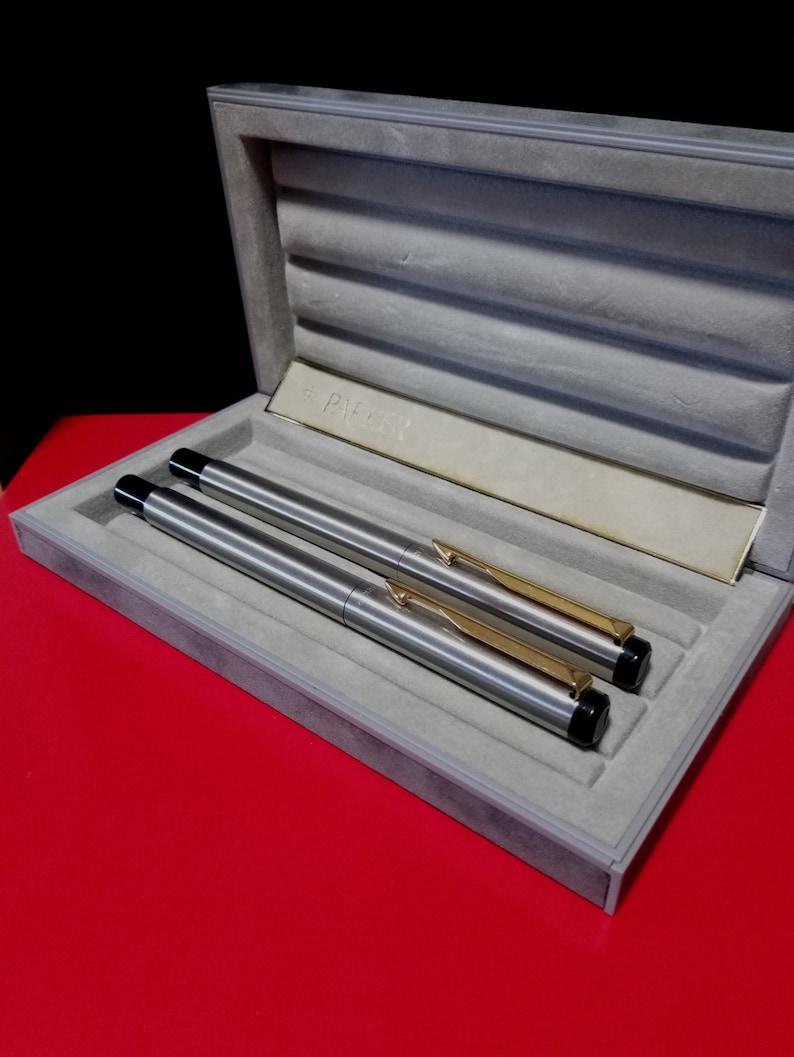 Parker USA pen/'s set Parker fountain pen Fine nib Parker rollerball pen