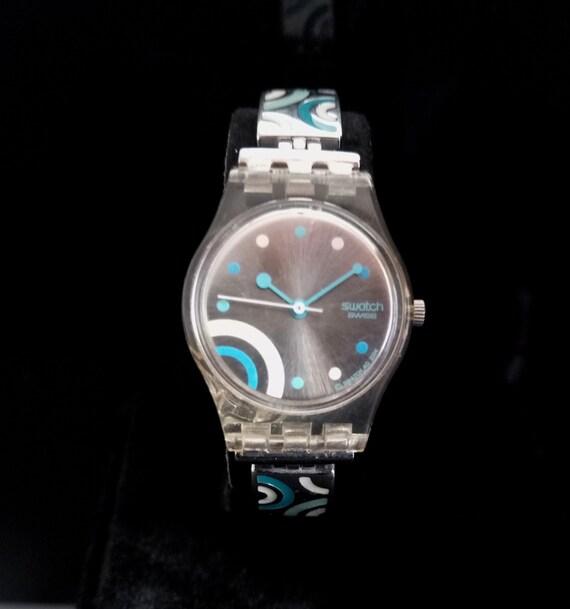 SWISS SWATCH LADY'S Wrist Watch, Vintage Swiss Swa