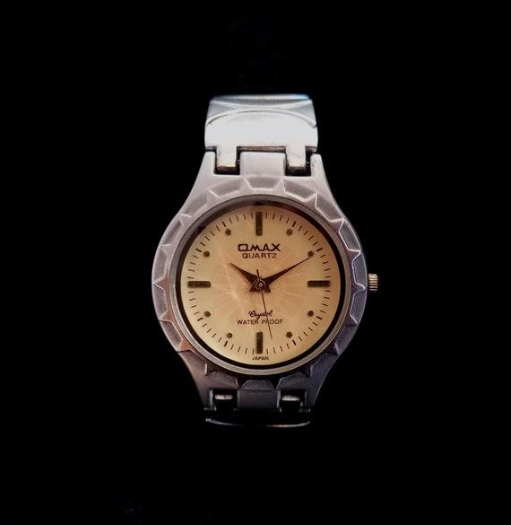 OMAX CRYSTAL QUARTZ Women's Wrist Watch, Vintage O