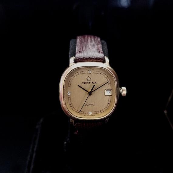 1980'S SWISS CERTINA QUARTZ Women's Wristwatch, Vi
