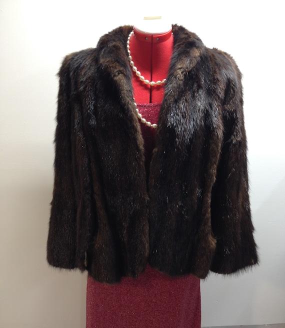 Cownie Fur cape
