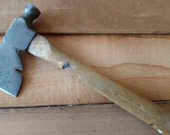 Vintage Plumb Hammer Axe