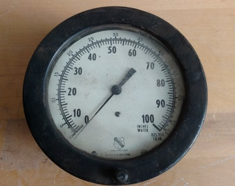 Ashcroft Steam Engine Pressure Gauge