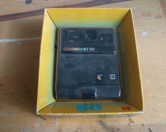 Classic Vintage Kodak Colorburst 50 Instant Camera Retro New in Box