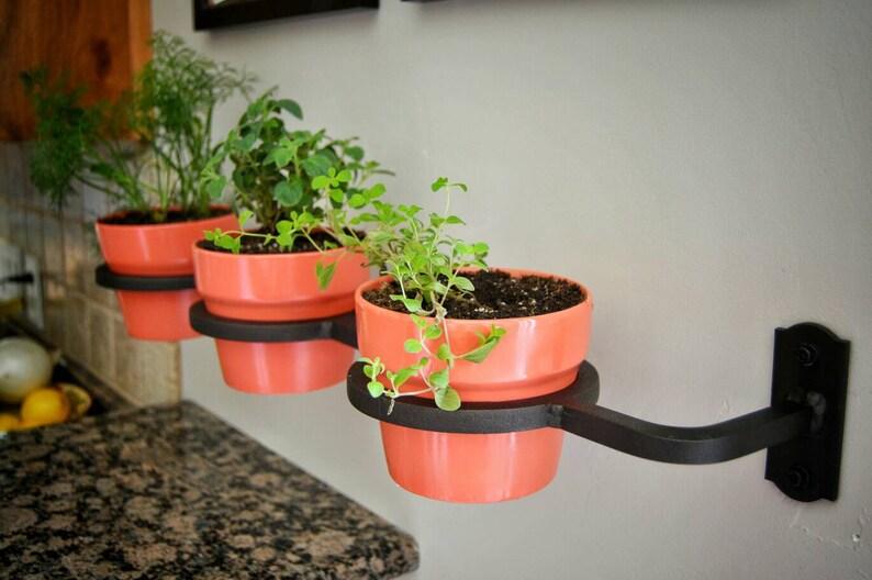 FREE SHIPPING!!! Indoor/Outdoor Home Herb Garden, Succulent Planter, Flower  Pot, Planter, Handmade, Welded, Iron, Fixer Upper Made USA