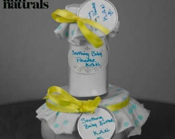 Soothing Baby butter and Talc-free baby powder set
