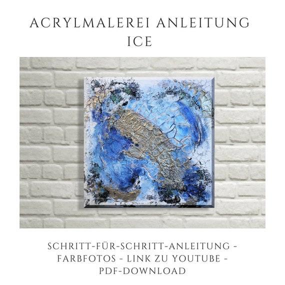 Ähnliche Artikel wie Abstrakte Acrylmalerei Anleitung als pdf ...