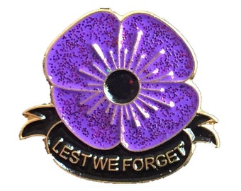remembrance pin badge 2020 Peace Lest we forget White poppy anti-war