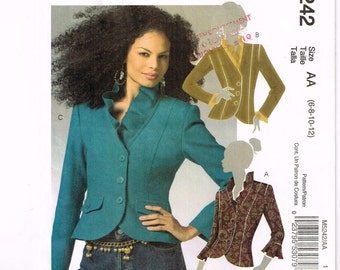 McCalls 5242 - Jacket - Size 6, 8, 10, 12