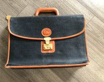 Dooney & Burke laptop case and attaché