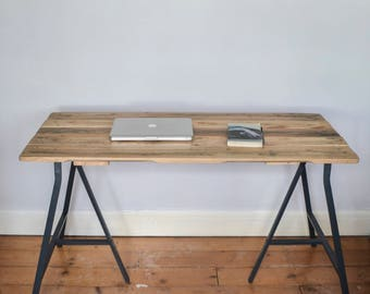Made To Order: Handmade Reclaimed Wooden Desk