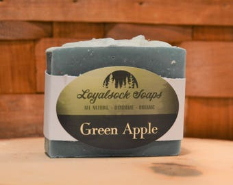 Green Apple Soap - organic, handmade, all natural