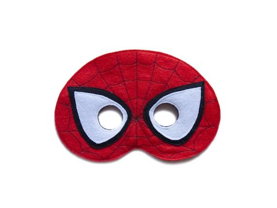 spiderman filz maske the amazing spiderman maske etsy. Black Bedroom Furniture Sets. Home Design Ideas