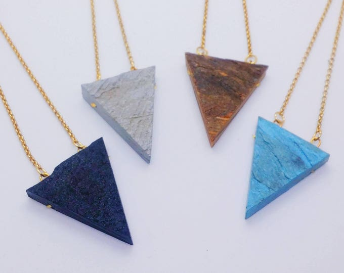 Necklace - Diffuser - RECLAIMED STANDARDS - The Triangle