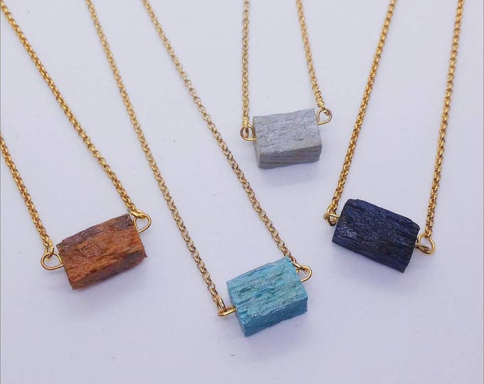 Necklace - RECLAIMED STANDARD - Cube