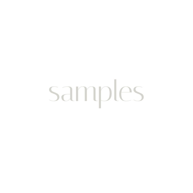 Express shipping of fabric swatches Samples