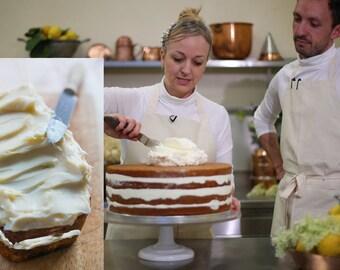 "Lemon Elderflower Royal Wedding Cake - 8"" Loaf"