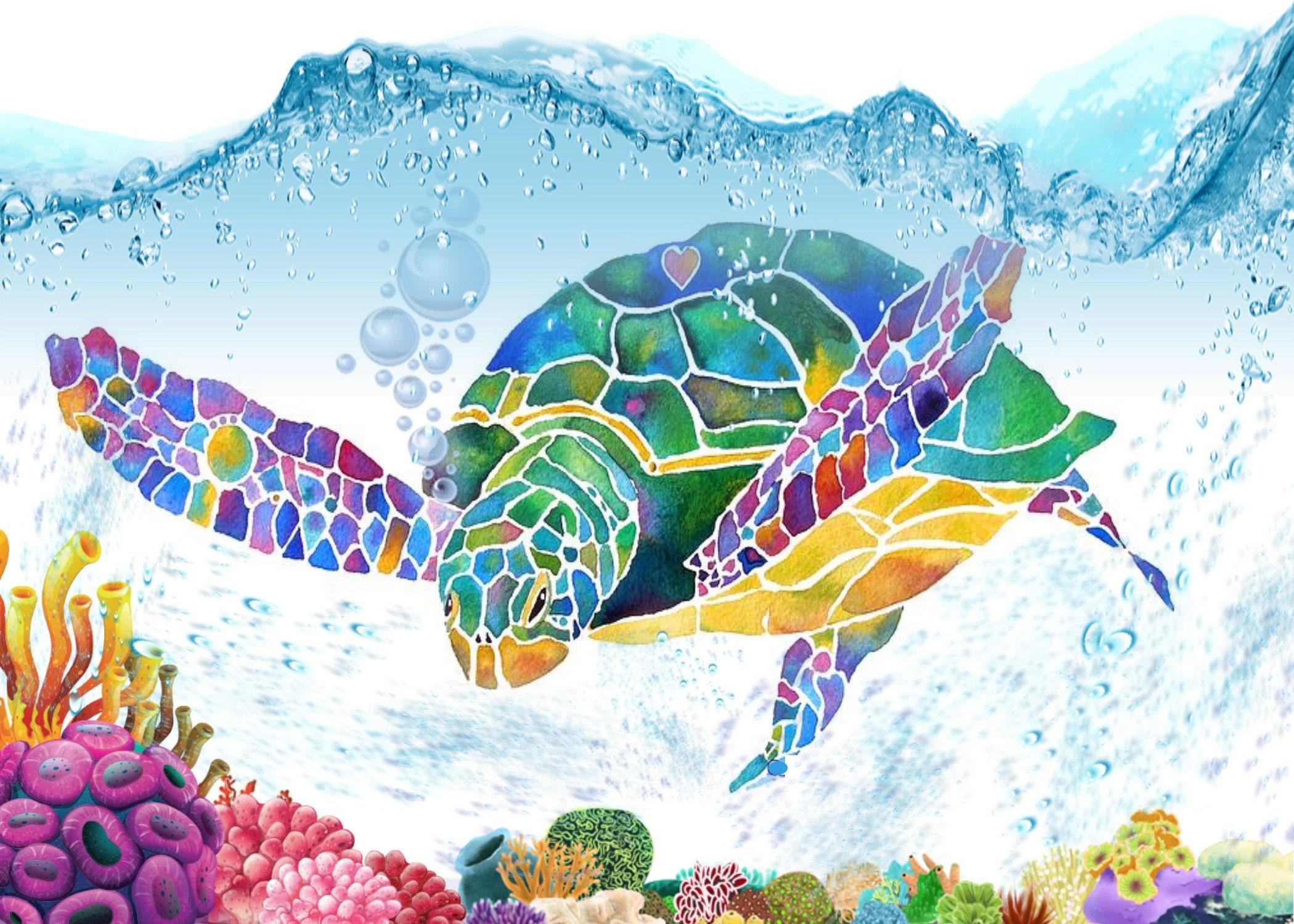 Sea turtle birthday invitation filmwisefo