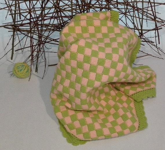 Babydecke Häkeln Häkeln Kinderwagen Decke Grün Etsy