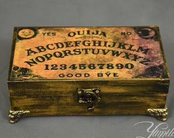 Spirit Board Jewellery Box | Ouija board box | Ouija box | Jewellery box | Jewelery Box | Spirit board box | Goth jewellery box