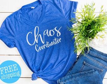 Chaos coordinator, Chaos coordinator shirt, Unisex Shirt, Mom tee, Funny Mom shirts, Blessed mama, mama t-shirt, Gifts for Moms