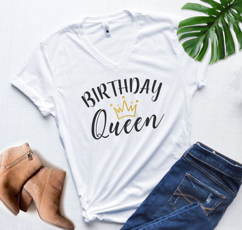 Birthday Queen Shirt Party