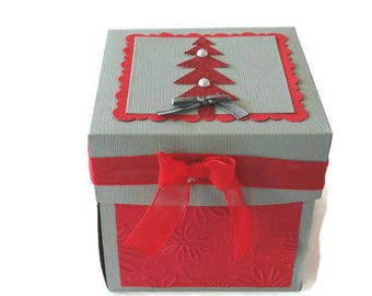 exploding box christmas box cards exploding card exploding box card christmas table centerpiece christmas gift boxes with lids