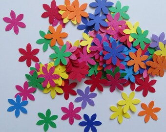 Flower cut out Mixed paper flowers Paper flower kit Die cut paper flowers Flower grab bags Cardmaking kit Flower kit