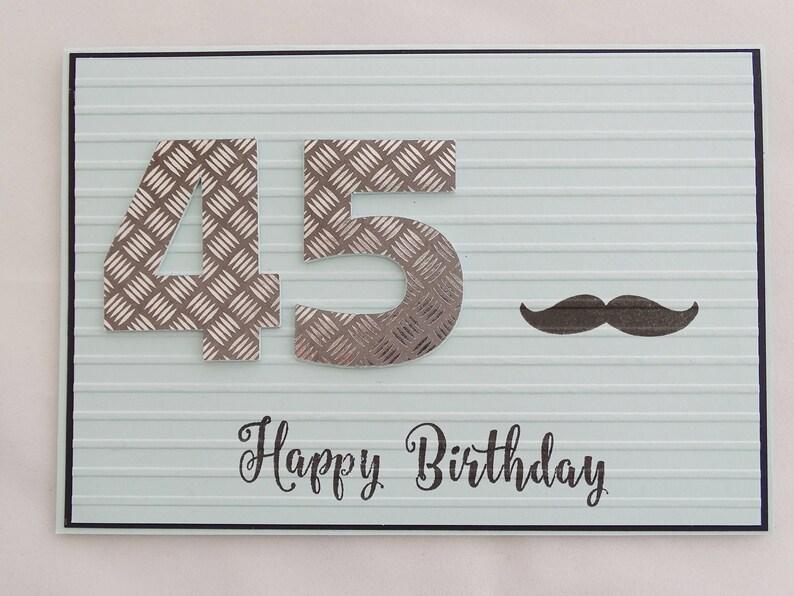 45th Birthday Card Gift For Men