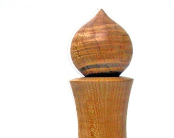 Maple Pepper Mill || Wood Pepper Mill || Handmade Pepper Mill || Lathe Turned Pepper Mill
