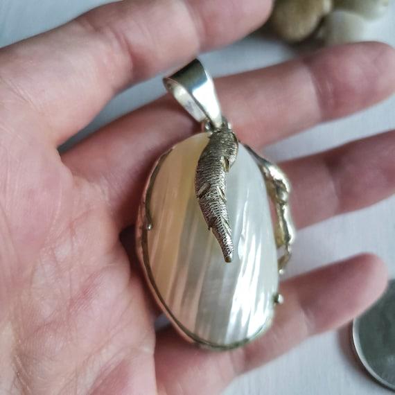 Natural Pearl Pendant, Vintage Pearl Pendant,Tree