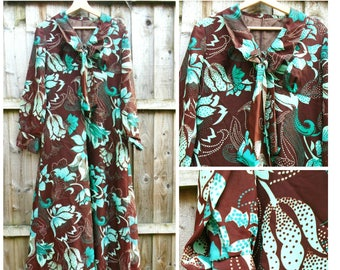 Vintage Maxi Dress - Evening Dress - Party - Prom - Costume - 70's