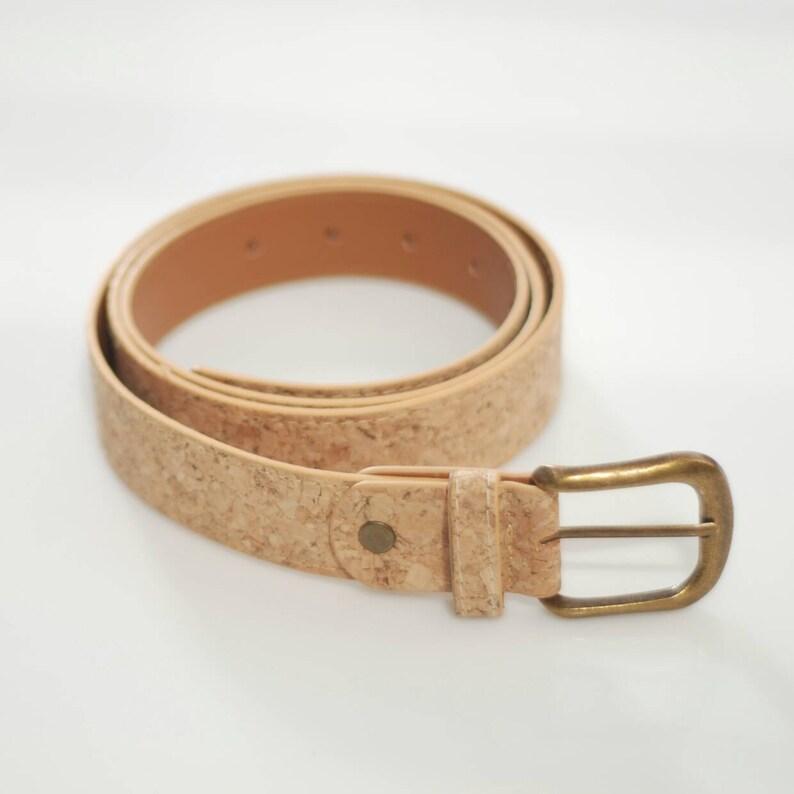 Unisex belt Mens belt Cork belt Belt Vegan belt Womens  6259d649c674d
