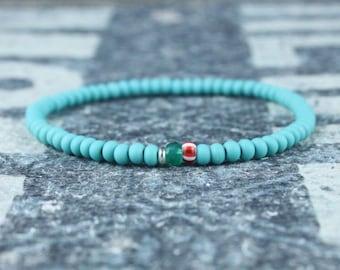Gifts for Men, Onyx, Friendship Bracelet, Green Onyx, Mens Bracelet, Beaded Bracelet, Boyfriend Gift, Gift for Boyfriend, Gifts for Him