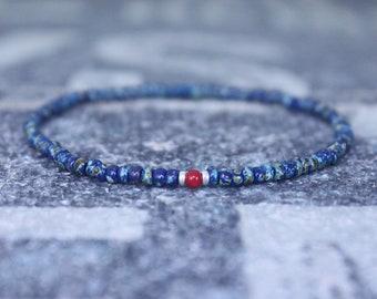 Coral bracelet, Mens Gift, Red Coral Bracelet, Gift for Men, Boyfriend Gift, Husband Gift, Gift for Boyfriend, Gift for Husband, Couples