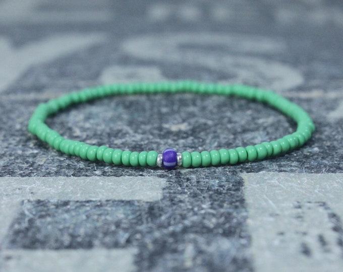 Mens Beaded Bracelet, Anniversary Gift, Beaded Bracelet, Men Gift, Gift for Boyfriend, Mens Bracelet Gift, Couples Bracelet, Bead Bracelet
