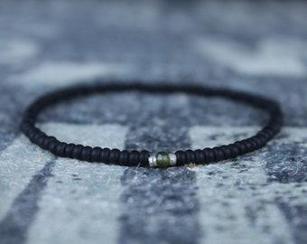 Tsavorite Bracelet, Bracelet Men, Mens bracelet, Mens Gifts, Birthday Gift for Men, Gemstone Bracelet, Birthstone brace